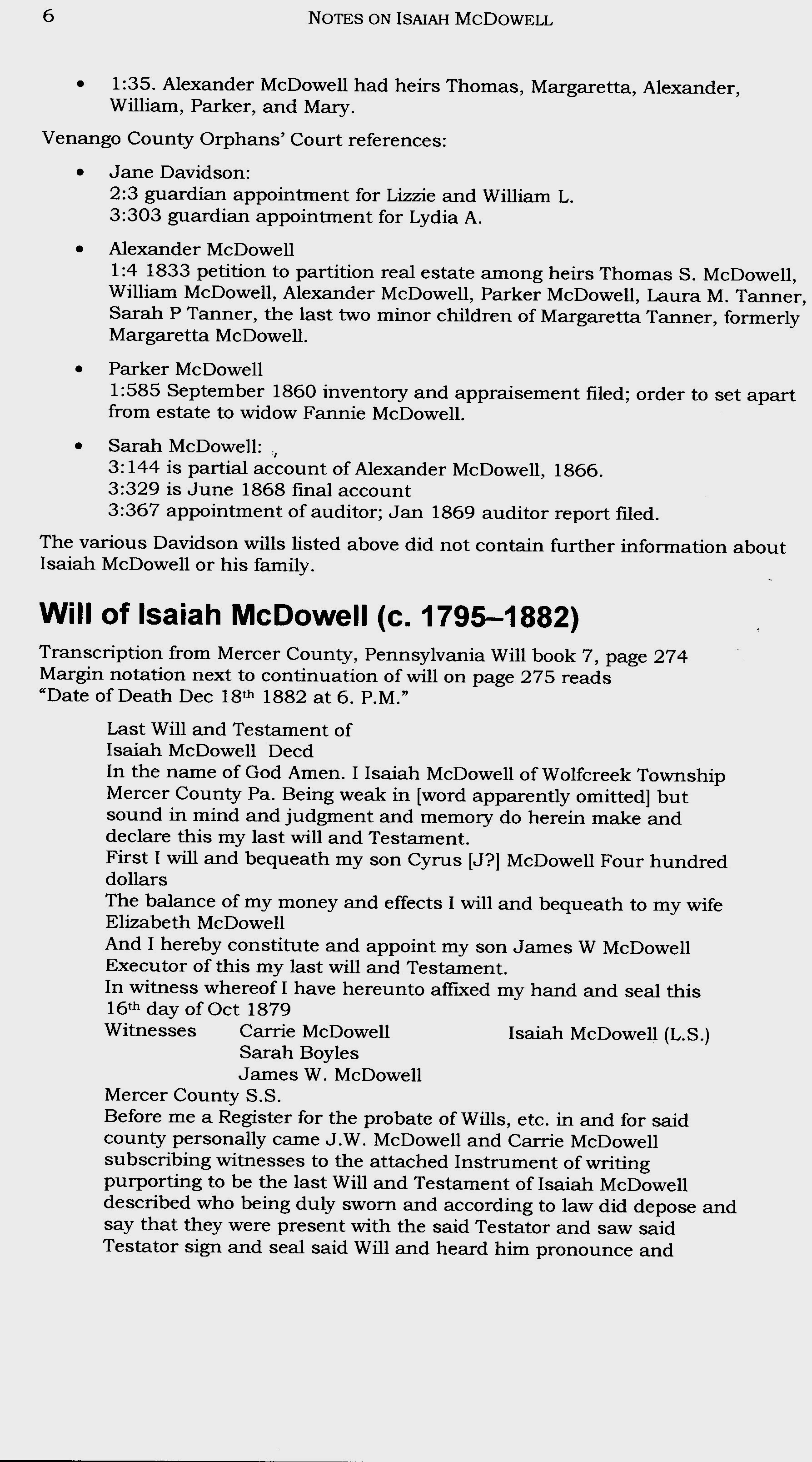 Isaiah McDowell