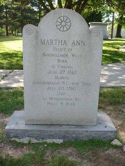 Martha Ann Tadlock