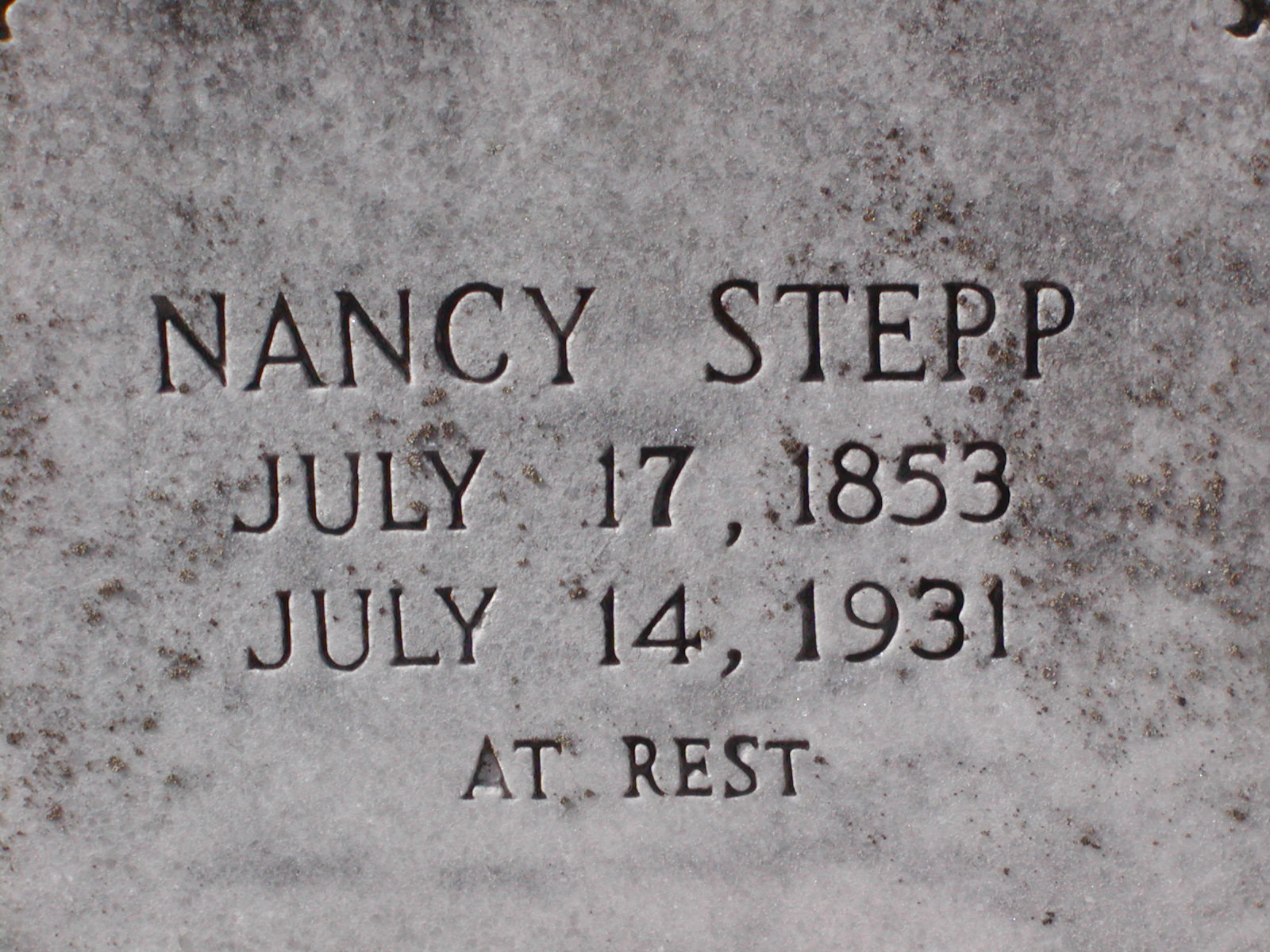 Nancy Stepp