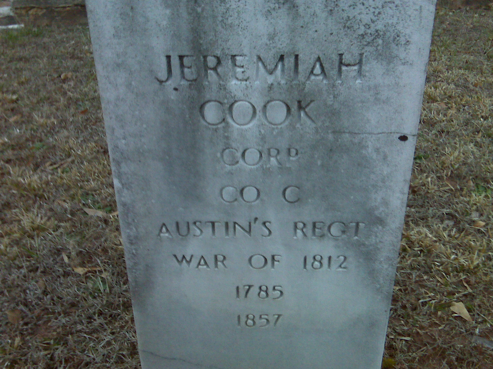 Jeremiah Cook