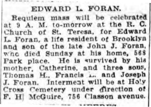Edward Joseph Foran