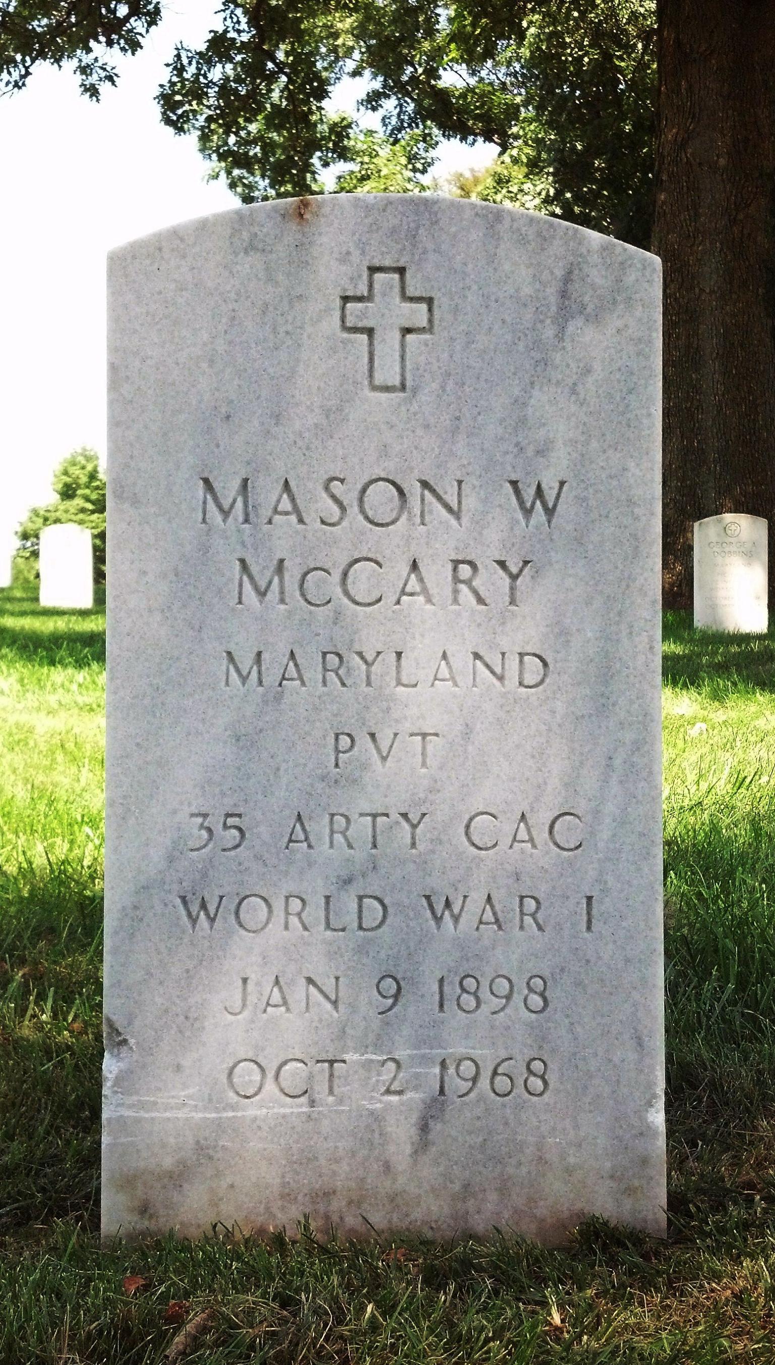 Mason White McCary