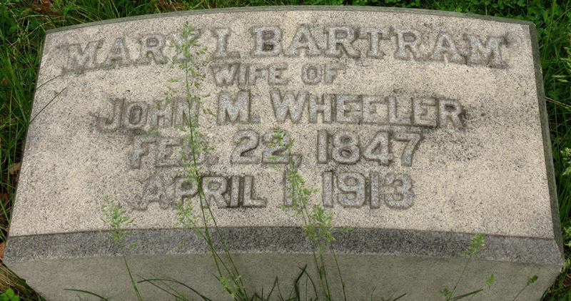 Mary Elizabeth Bartram