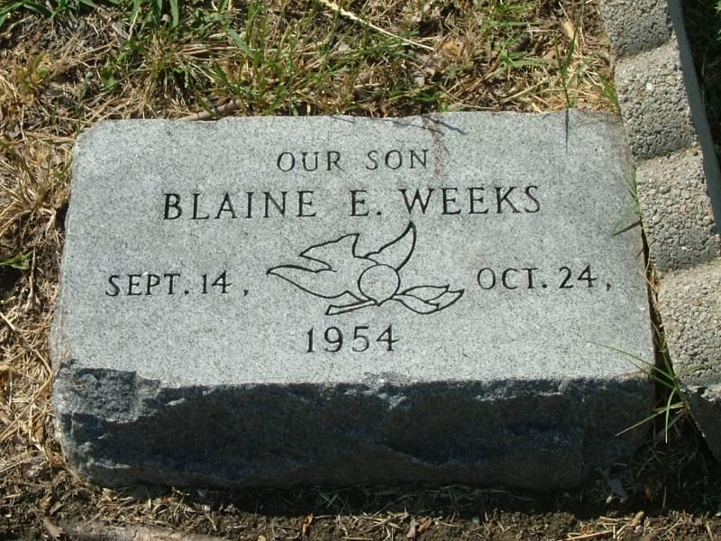 Blaine Weeks