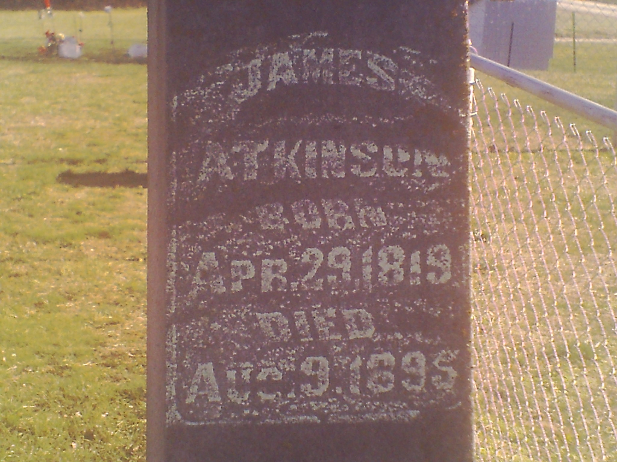 James G Atkinson