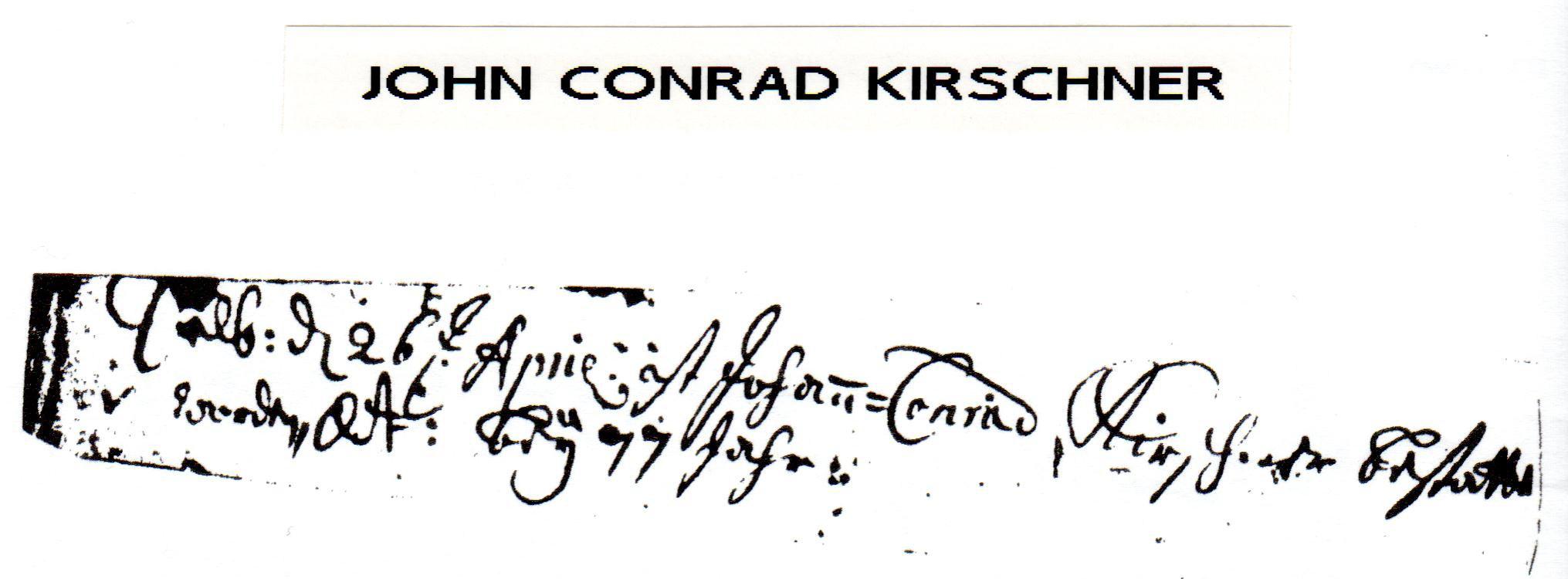 Conrad Kerschner