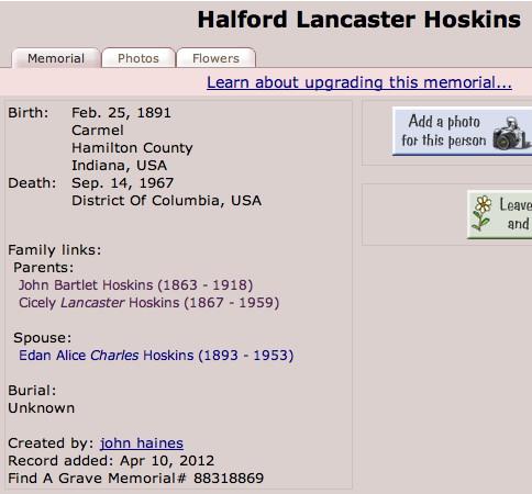 Halford Hoskins