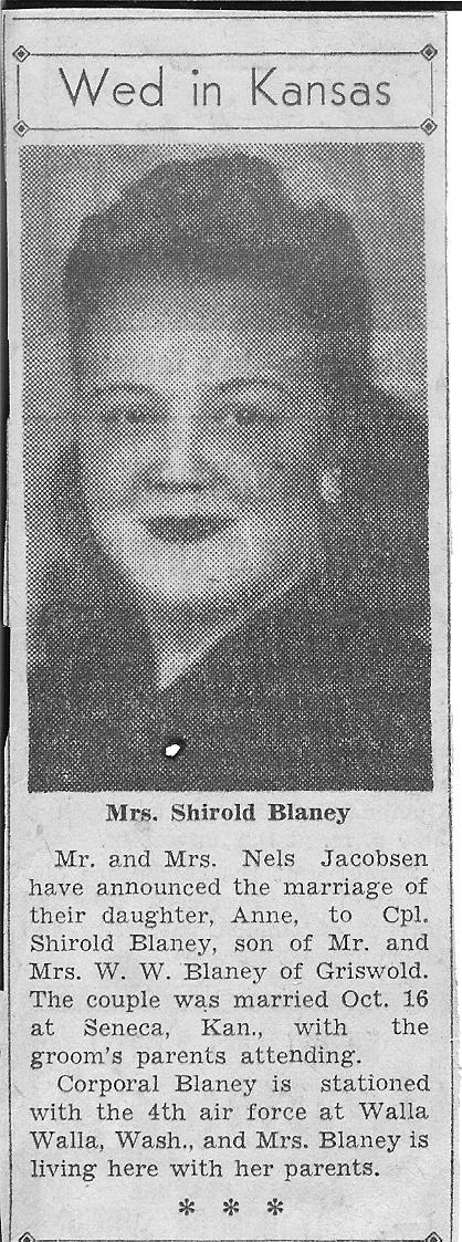 Shirold Lester Blaney