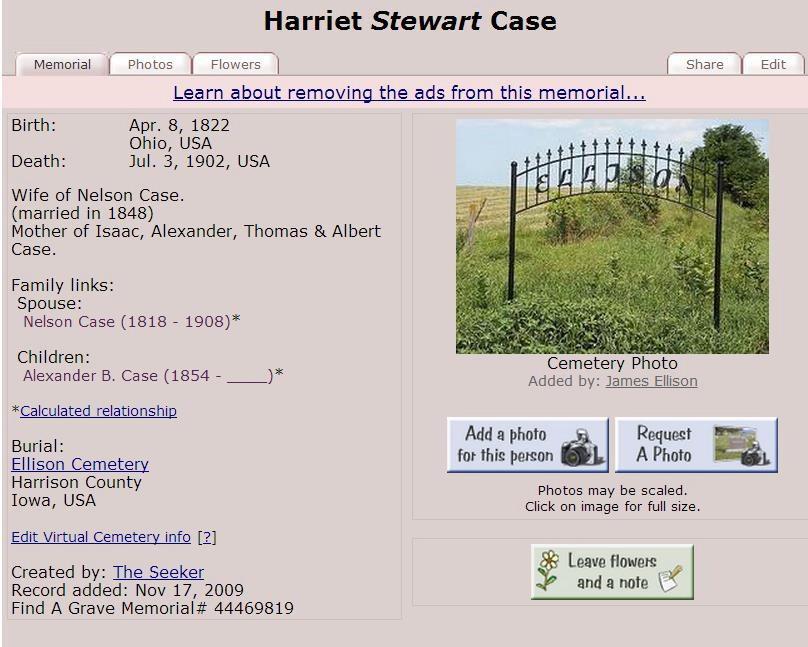 Harriet Chase Stewart