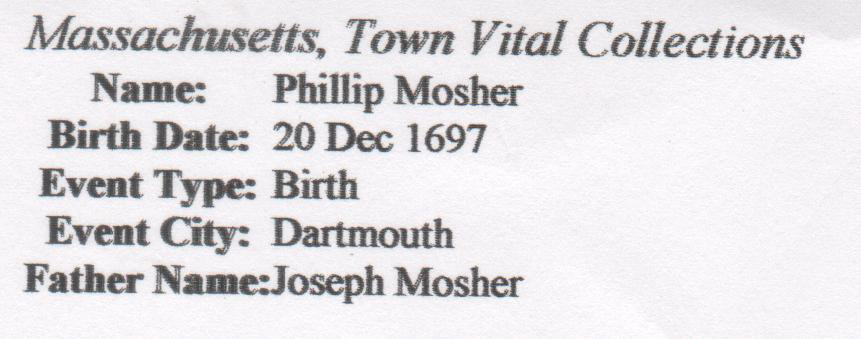 Philip Mosher