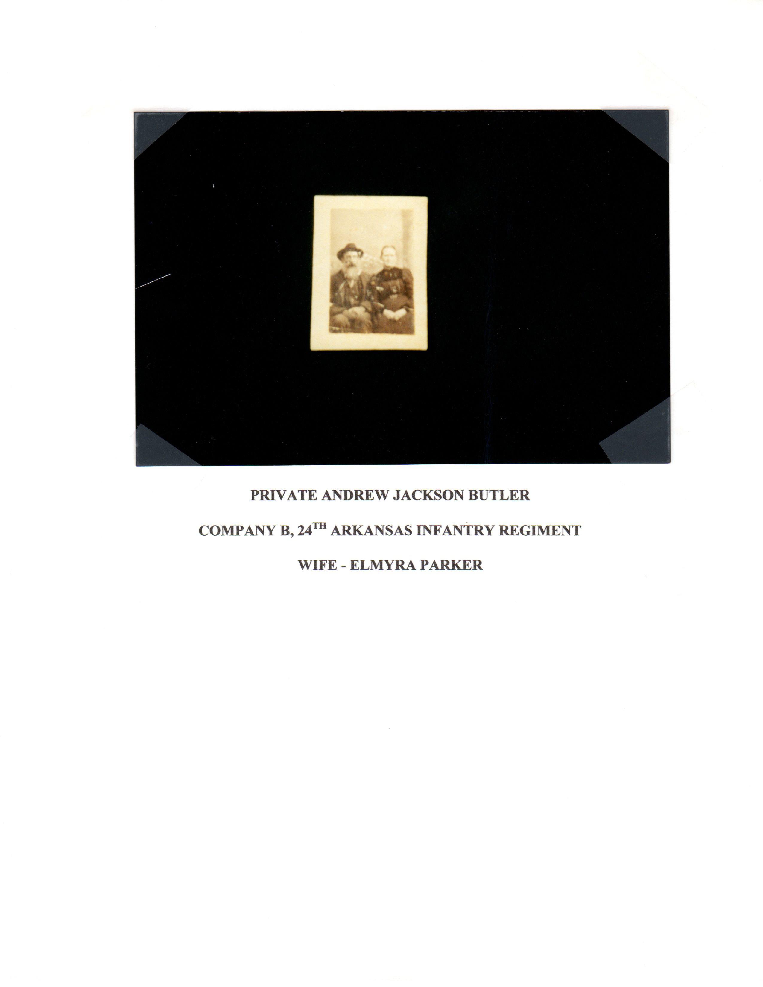 Andrew Jackson Butler