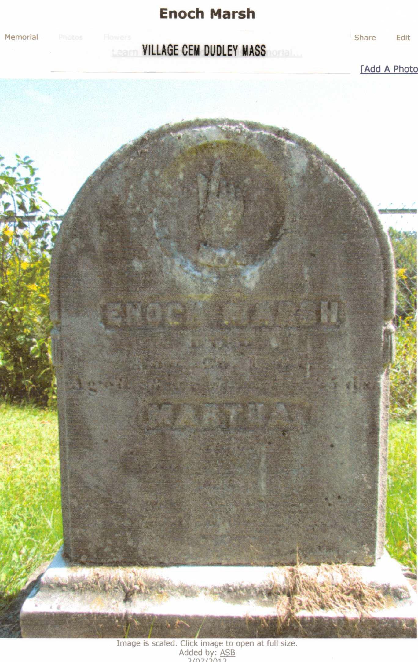 Enoch Marsh