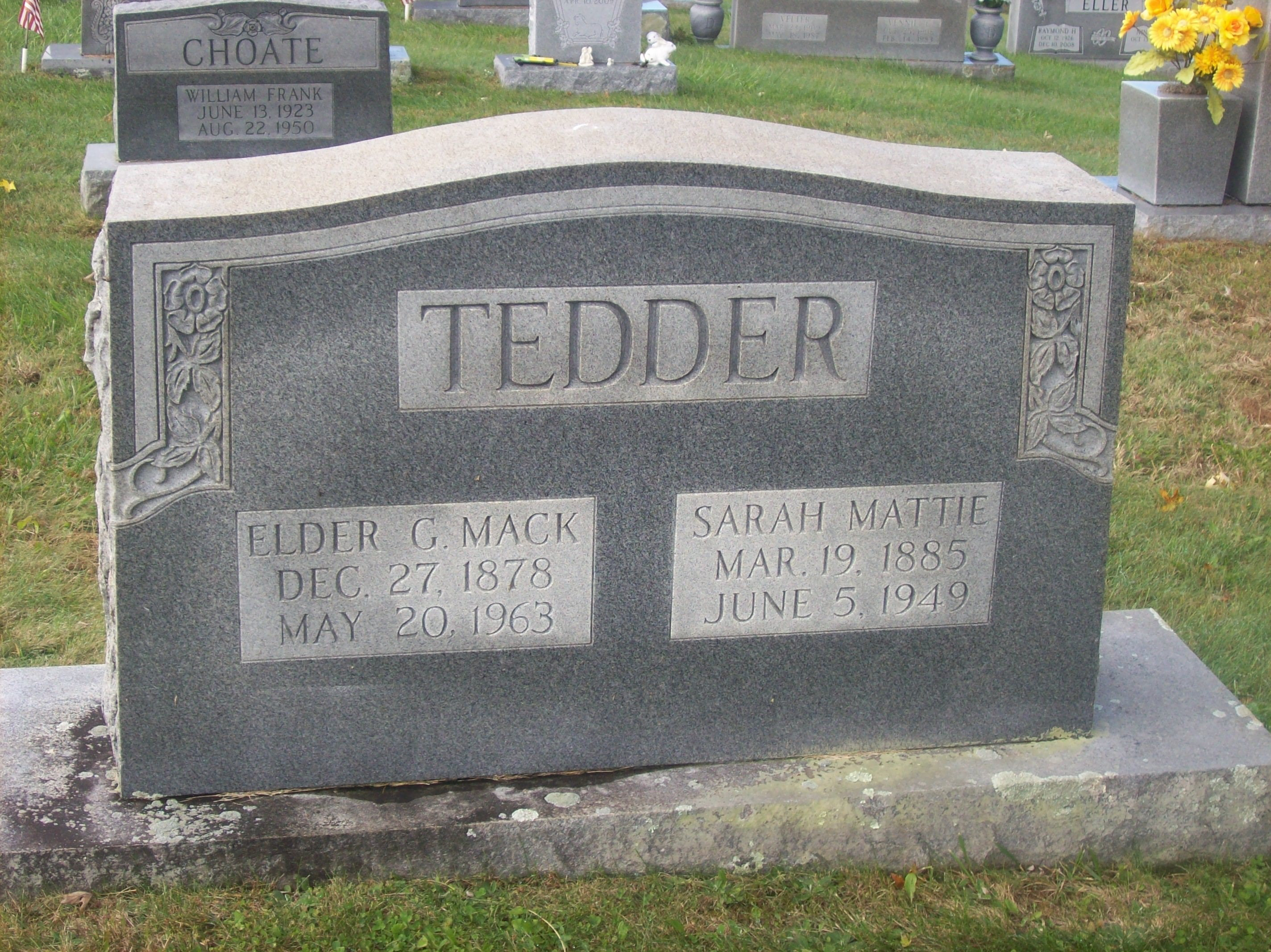 George W Tedder