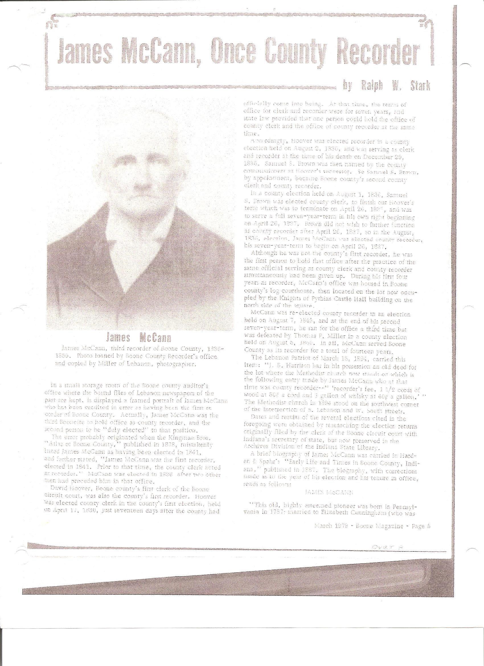 John P Mccann