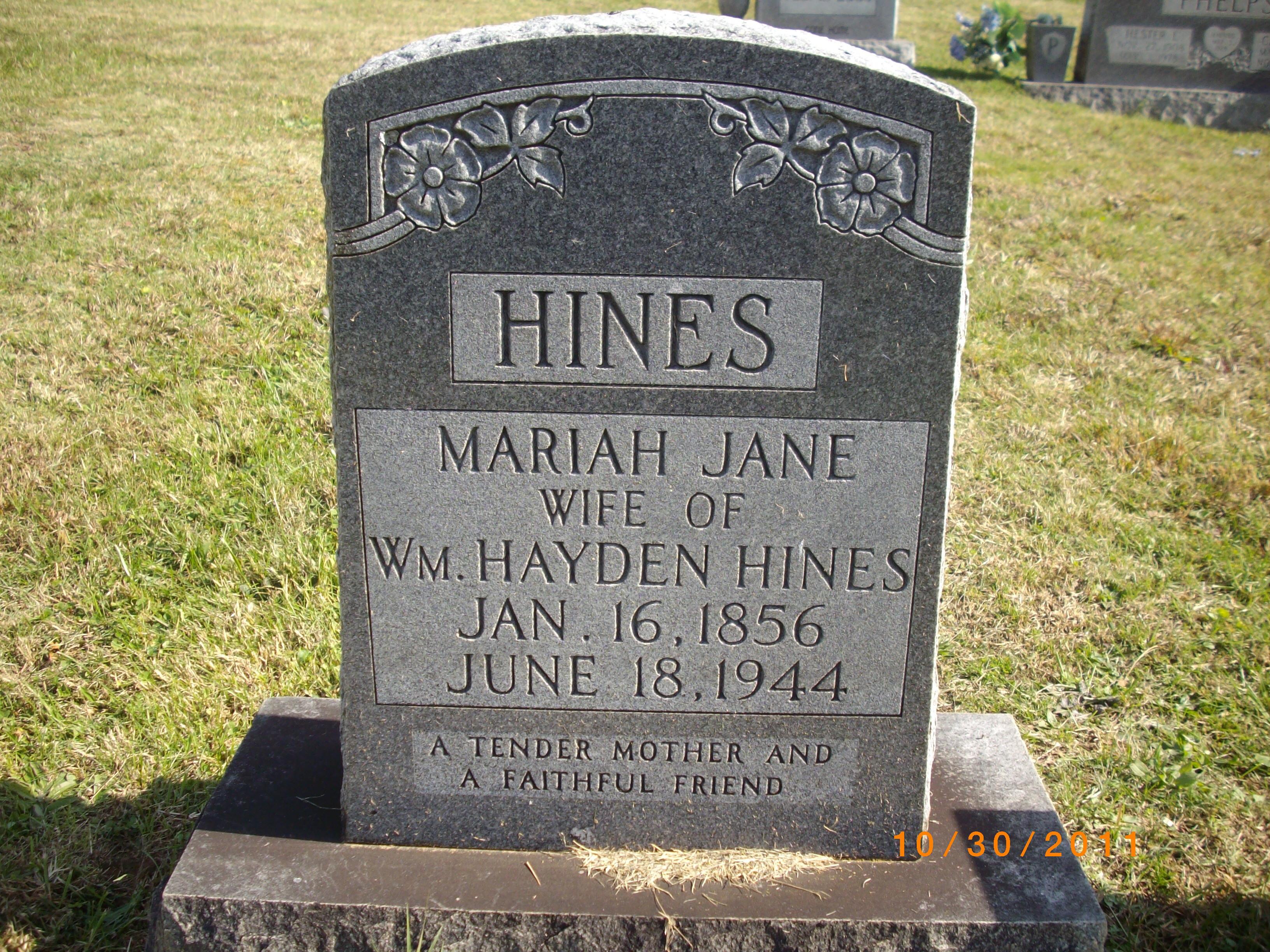 Mariah Jane Hines