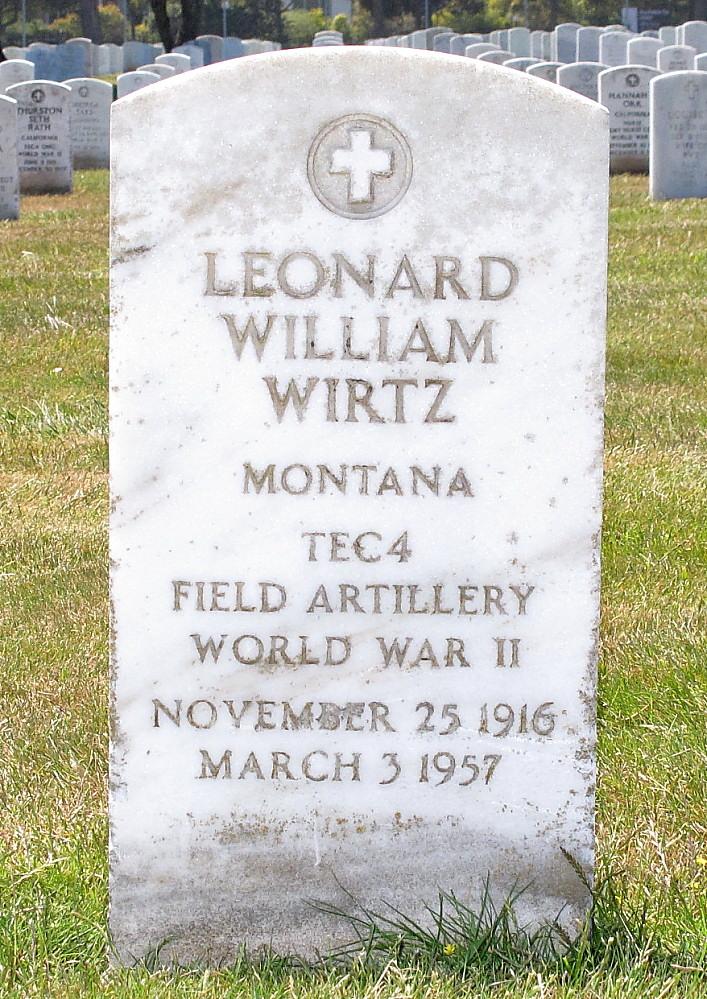 Leonard Charles Weihert