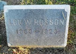 Louisa Rosson