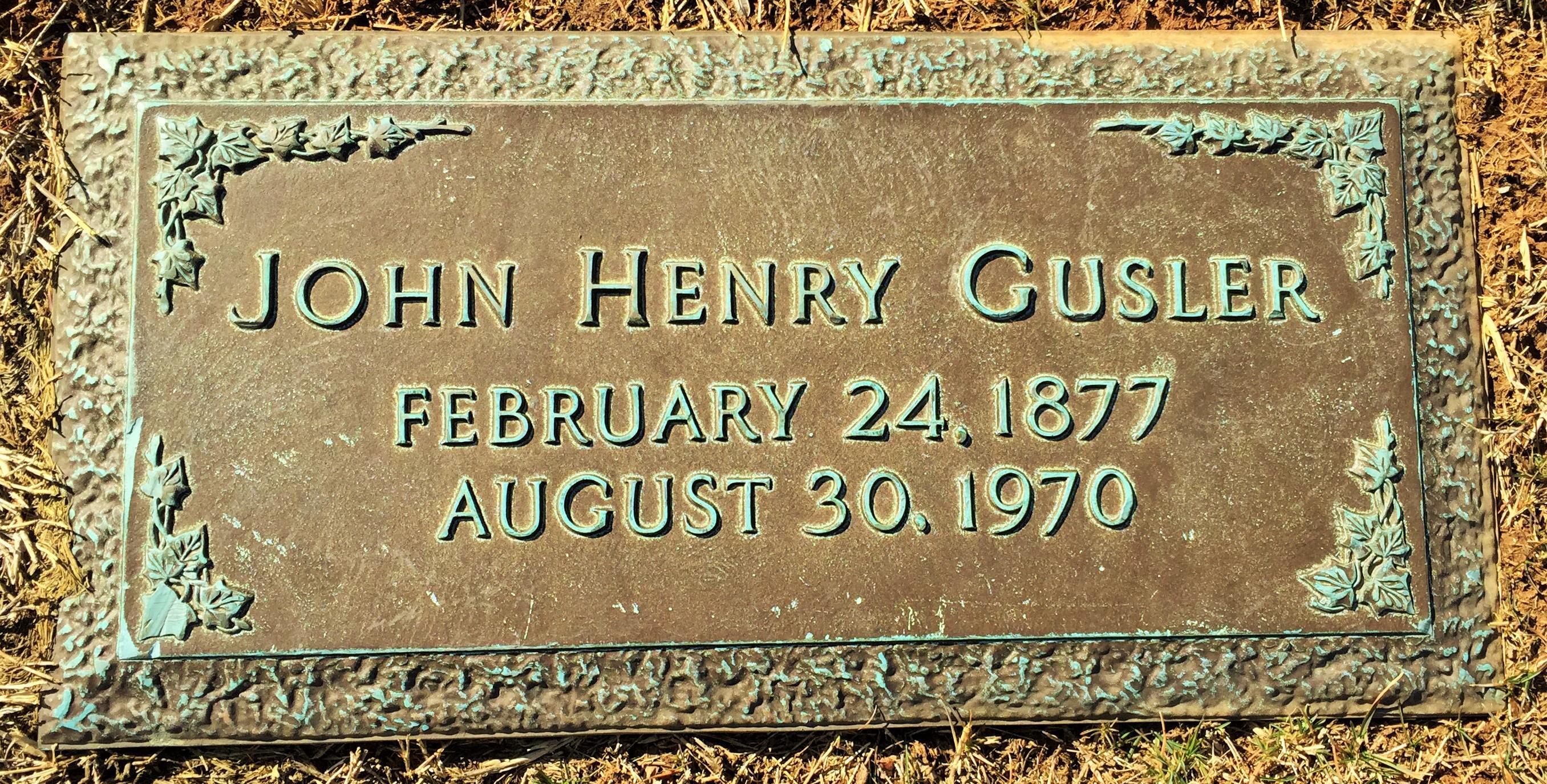 John J Gusler