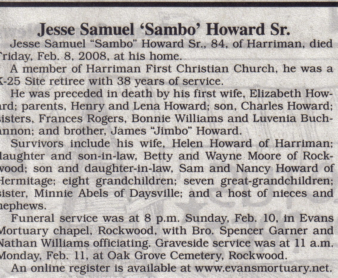 Samuel Jesse Howard