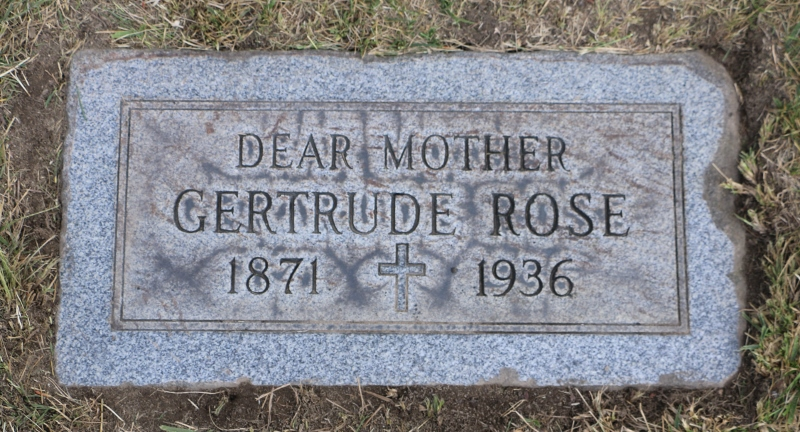 Gertrude Rose