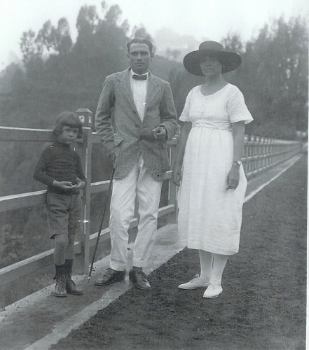 Arthur, Hope and Norman MacLachlan