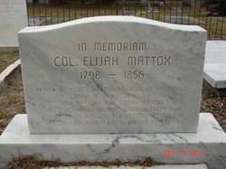 Elijah Mattox