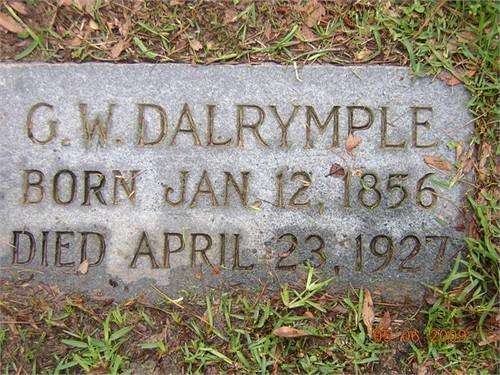 George Winham Dalrymple