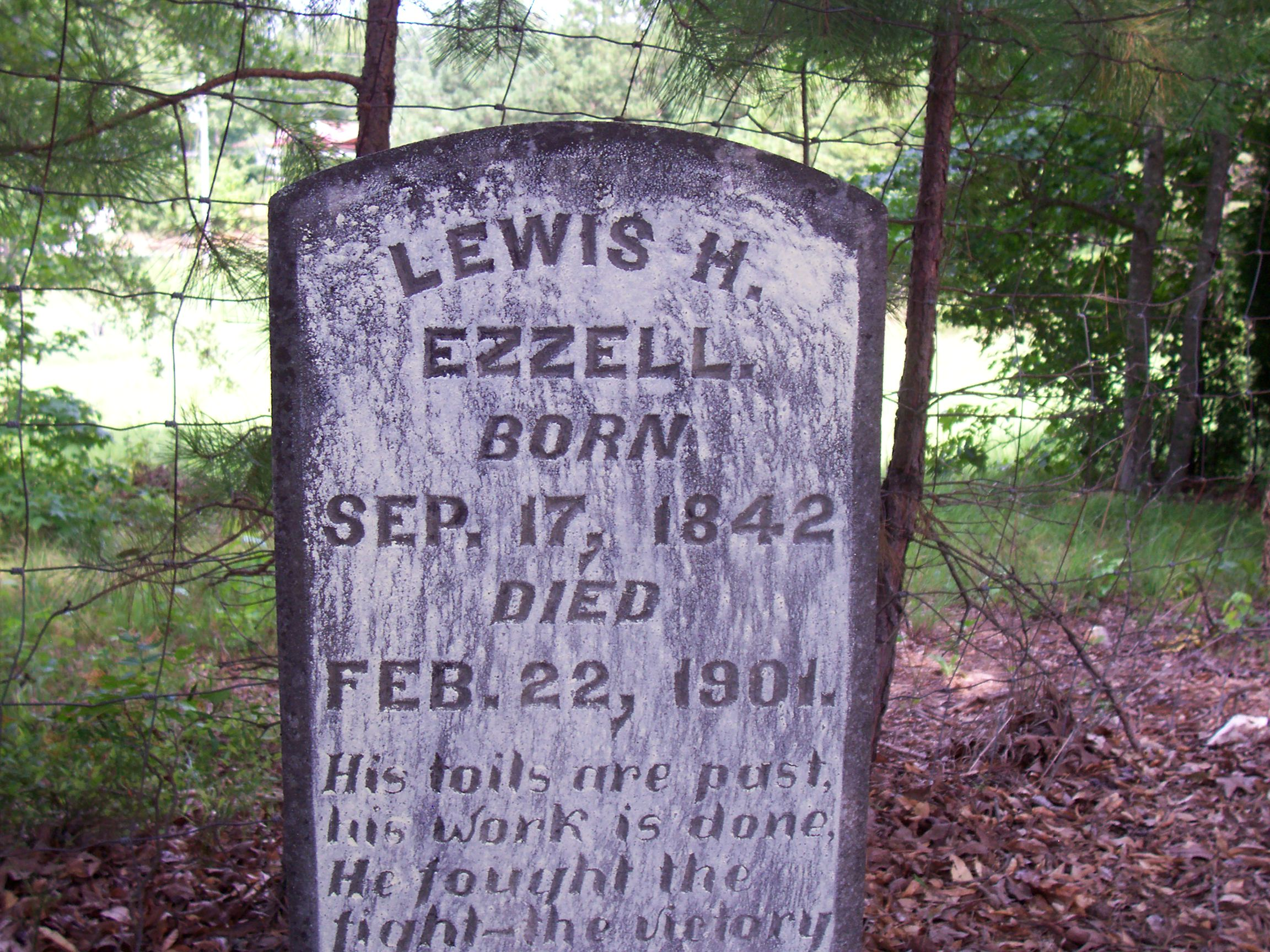 Lewis H Ezzell