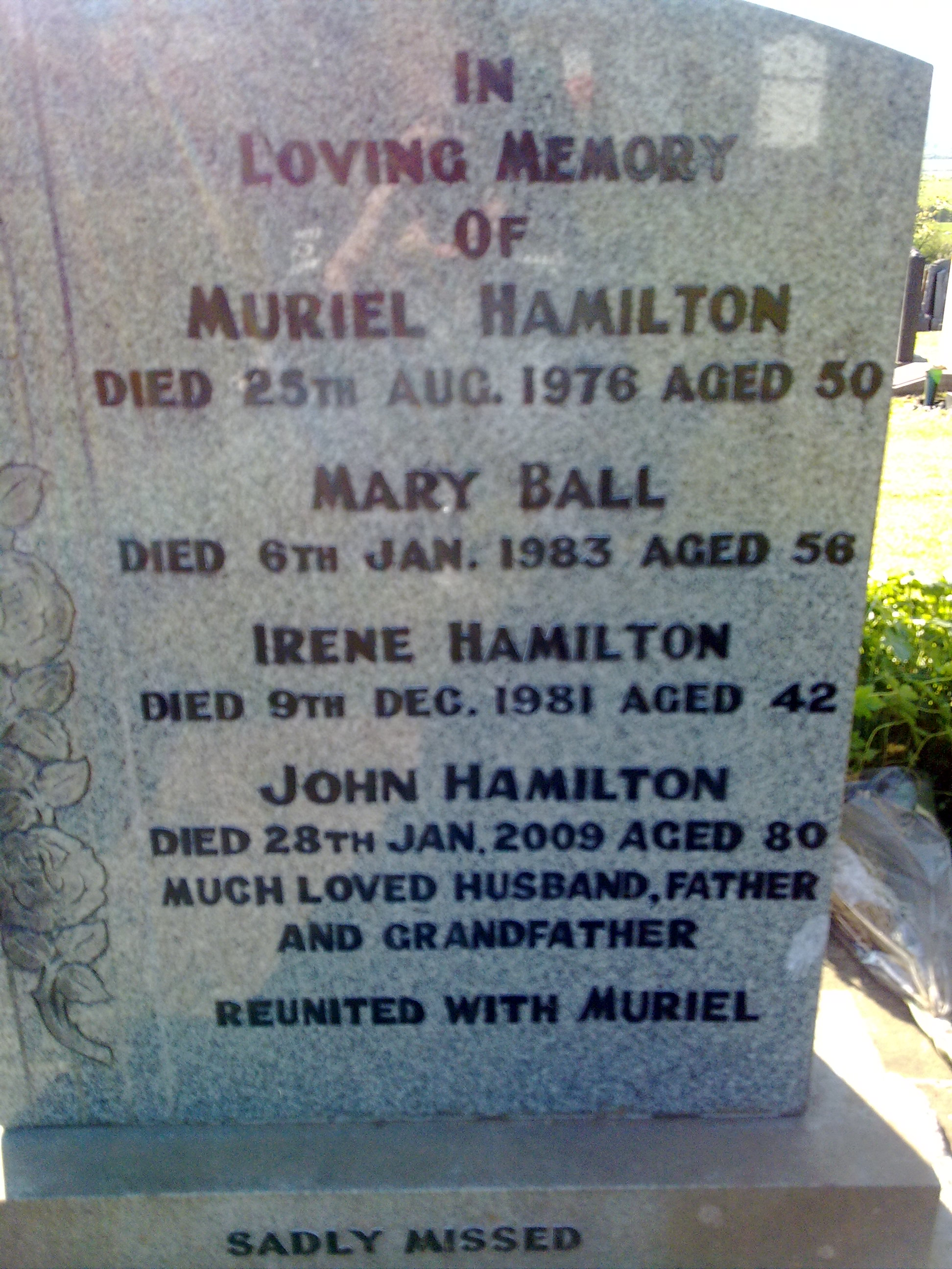 Irene Hamilton
