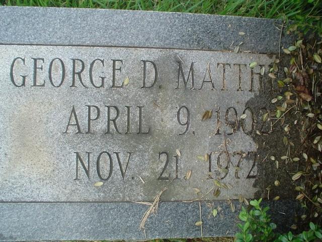 George David Matthews