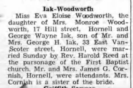 Eva G Woodworth
