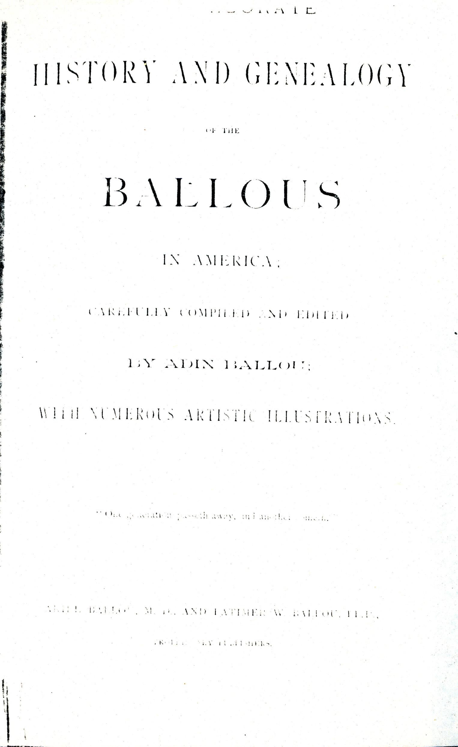 Lydia Ballou
