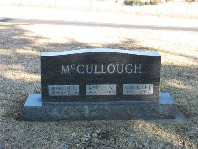 Marion McCullough