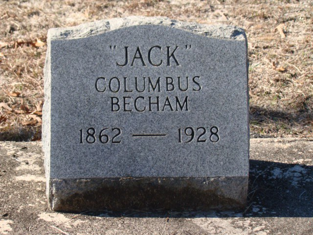 Jack Columbus Becham