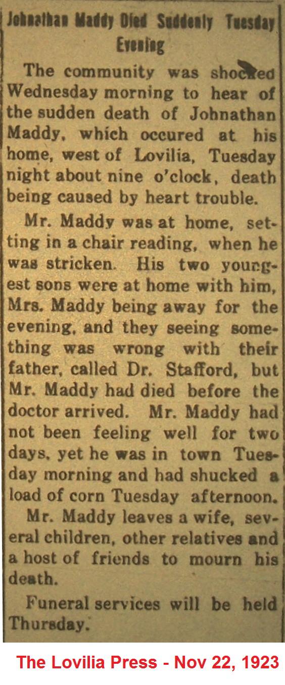 John J Maddy