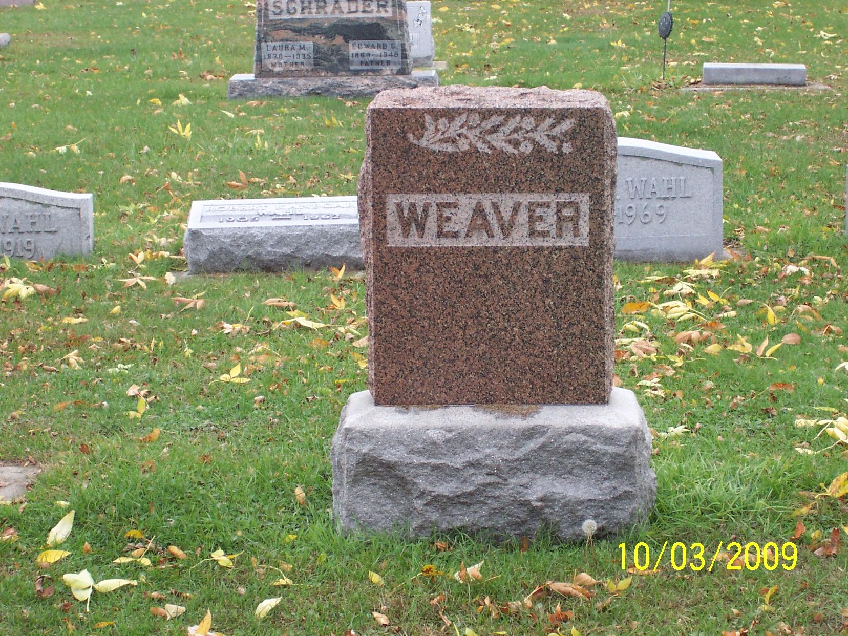 Benjamin B Weaver