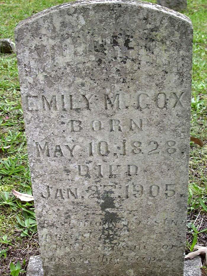 Emily M Cox