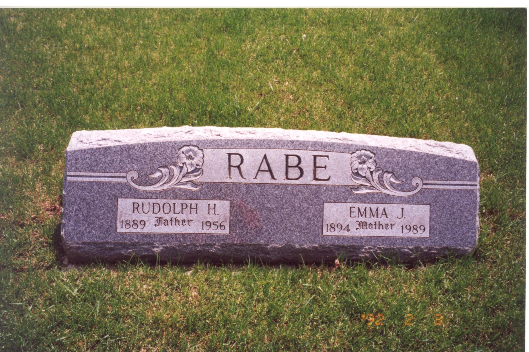 Rudolph Rabe