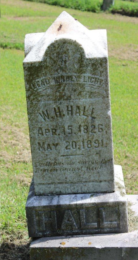 William H Hall
