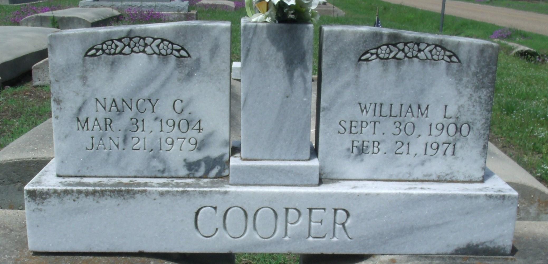 Willie L Cooper