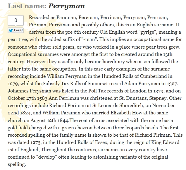Robert Perriman