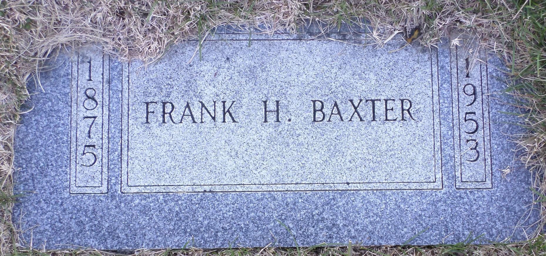 Frank Baxter