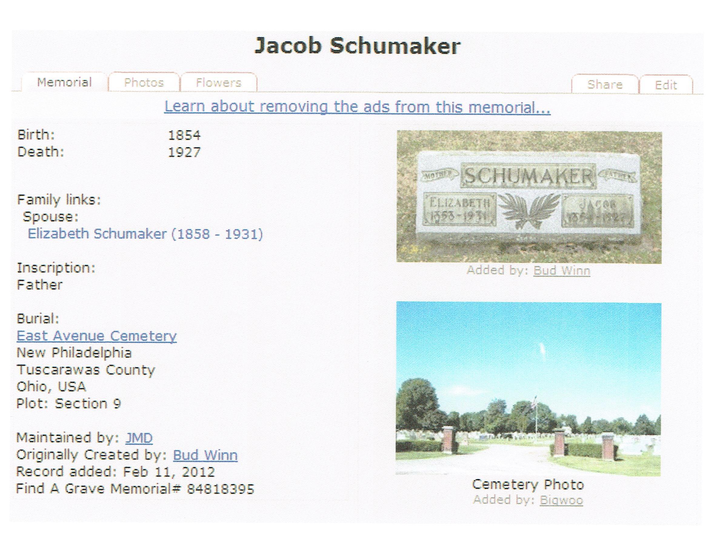 Jacob Schumacher