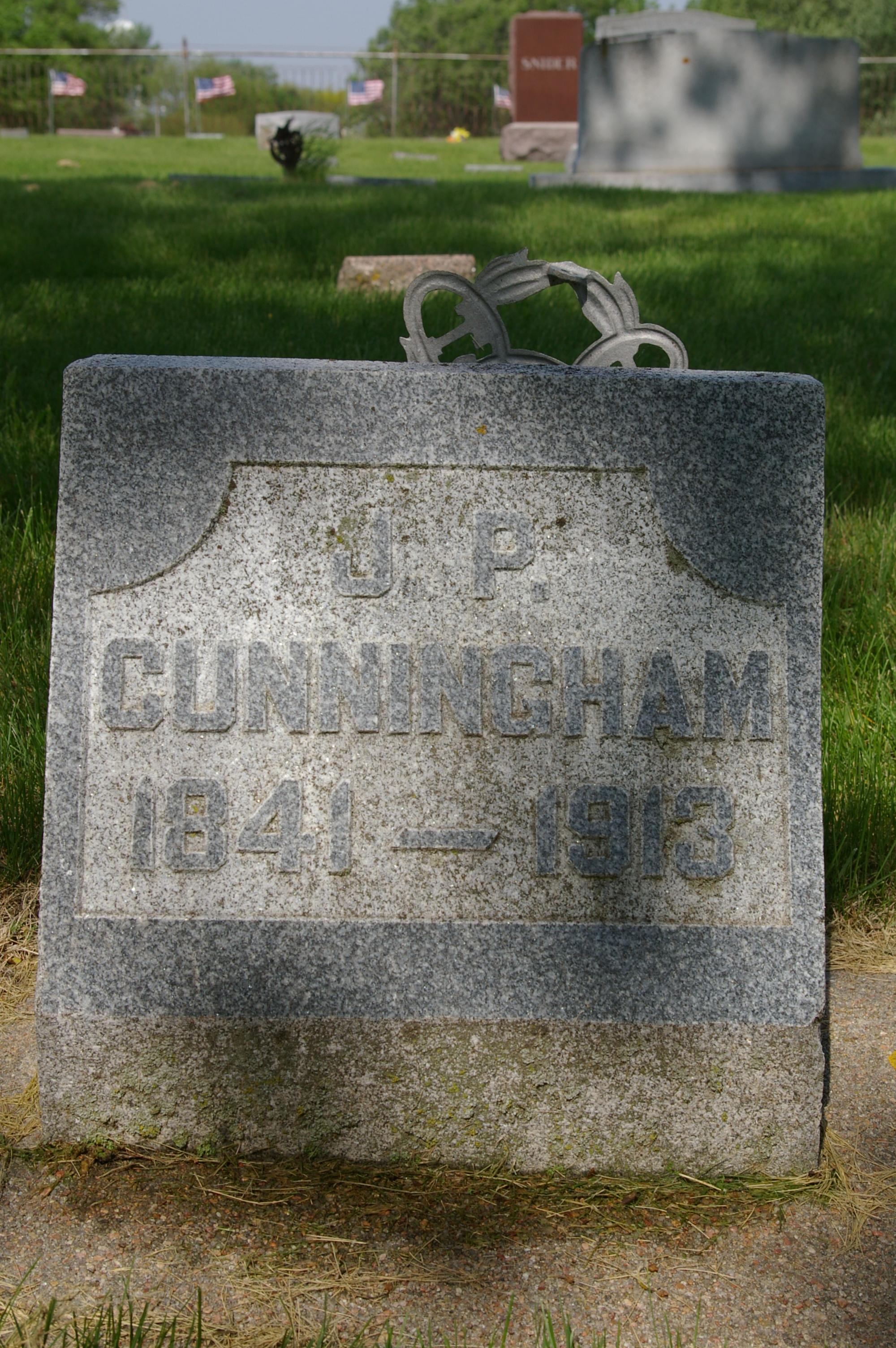 John Perry Cunningham gravestone
