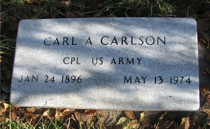 Carl A Carlson