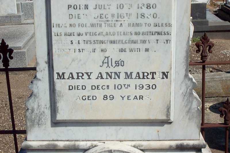 Mary Ann Wyatt