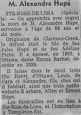 Alexandre Hupe