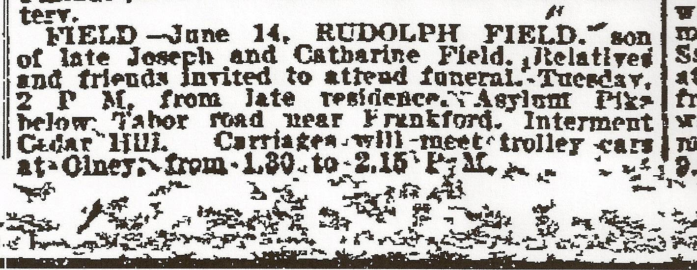Rodolphus Field