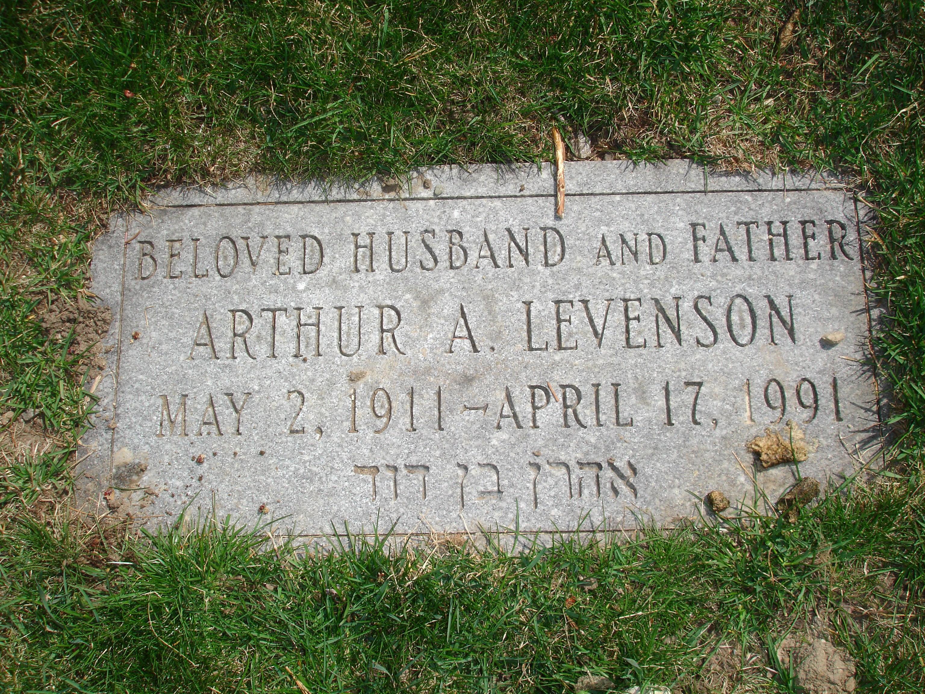 Arthur Dana Levenson