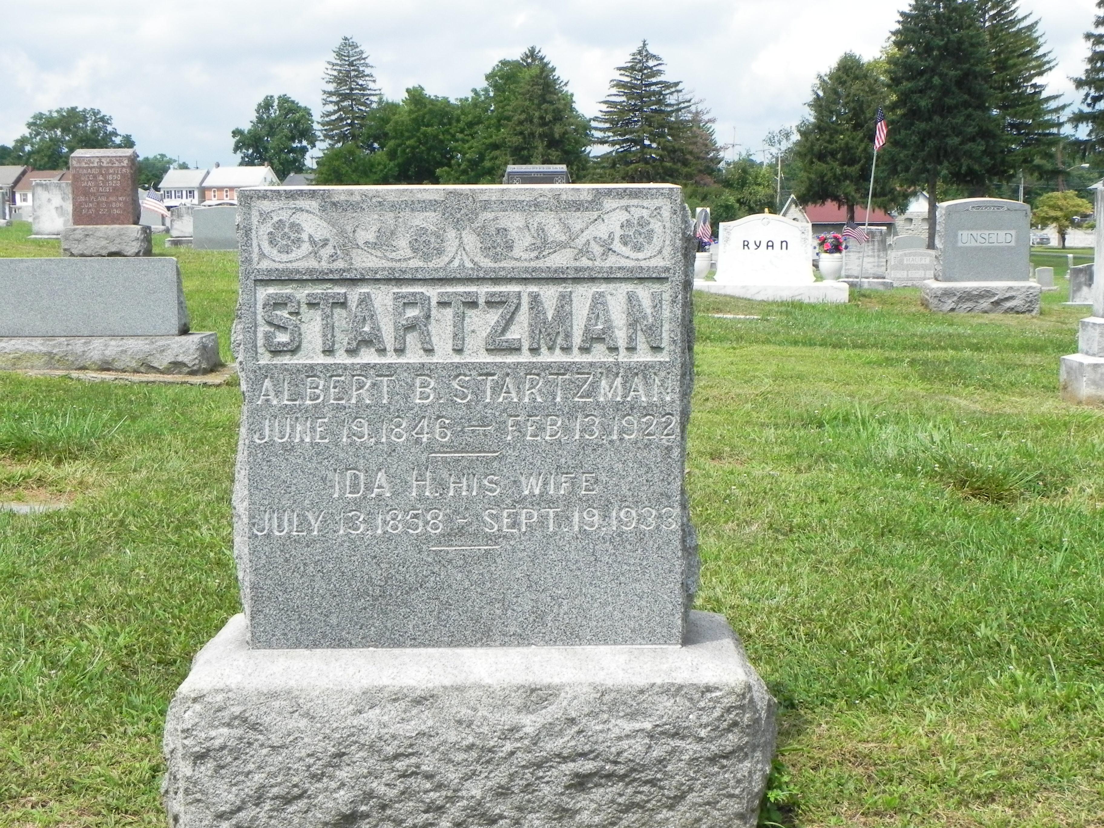 Lewis Albert Startzman